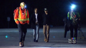 CTV Vancouver: First date gone awry: couple rescued on mountain