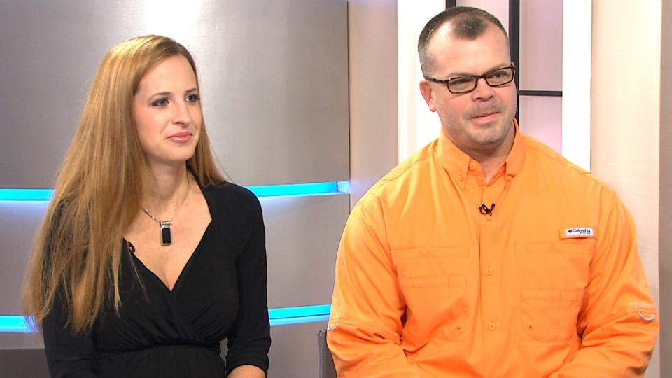 Hayley and Mike Jones speak to CTV's Canada AM, Oct. 5, 2015.
