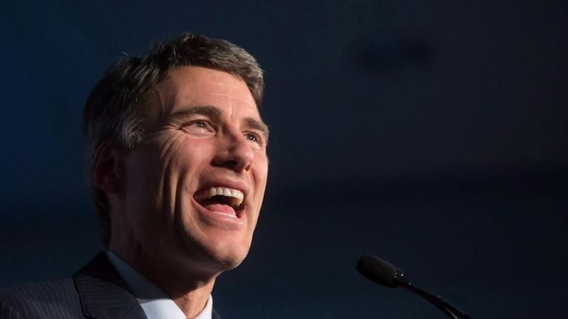Vancouver Mayor Gregor Robertson in Vancouver, B.C., on Saturday November 15, 2014. THE CANADIAN PRESS/Darryl Dyck