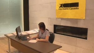 Special voting offices set up until Thursday in a pilot project on some university and CEGEP campuses and youth centres.