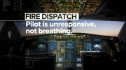 Pilot dies following in-flight medical emergency