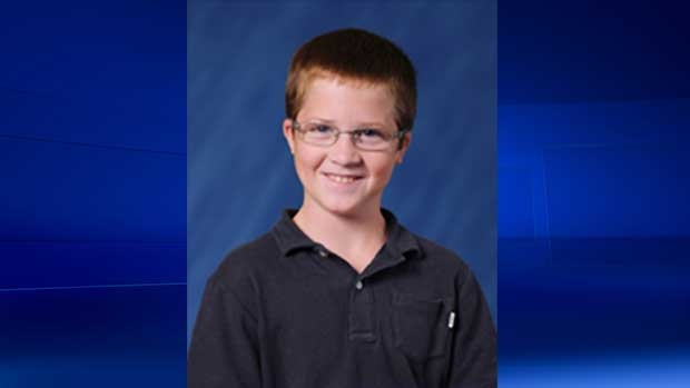 Quinn Derbyshire, 10, is seen in this image provided by the Thames Valley District School Board.