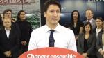 LIVE3: Trudeau speaks in Sherbrooke, Que.