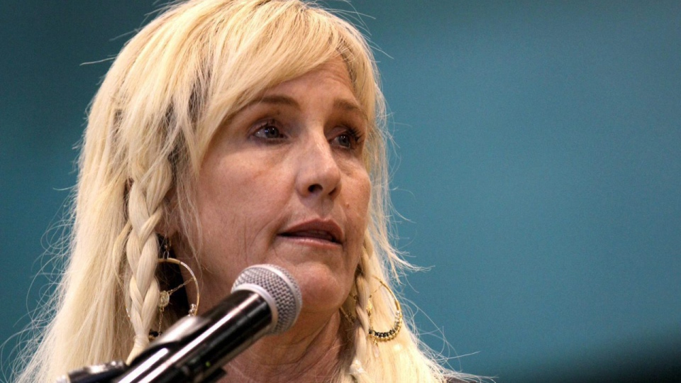 Celebrity environmental activist Erin Brockovich, seen here in September, has chimed in on Montreal's pending sewage dump. (Alexa Rogals / The Daily Times)