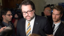 Quebec Environment Minister David Heurtel