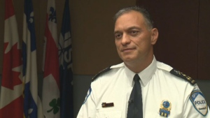 New Montreal police chief Philippe Pichet discuss