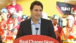 Trudeau announcement in Woodbridge, Ont.