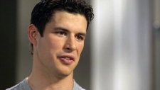 Pittsburgh Penguins captain Sidney Crosby