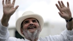 Chef Paul Prudhomme at his K-Paul's Louisiana Kitchen in Harahan, La., on Sept. 22, 2005. (LM Otero / AP)