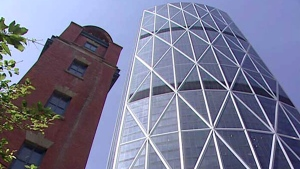 The offices of Cenovus Energy are located in this building in Calgary.