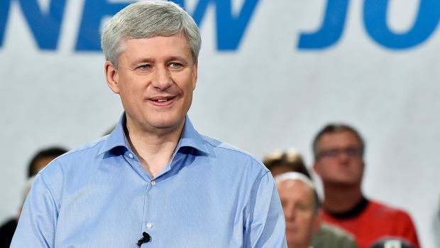Conservative Leader Stephen Harper