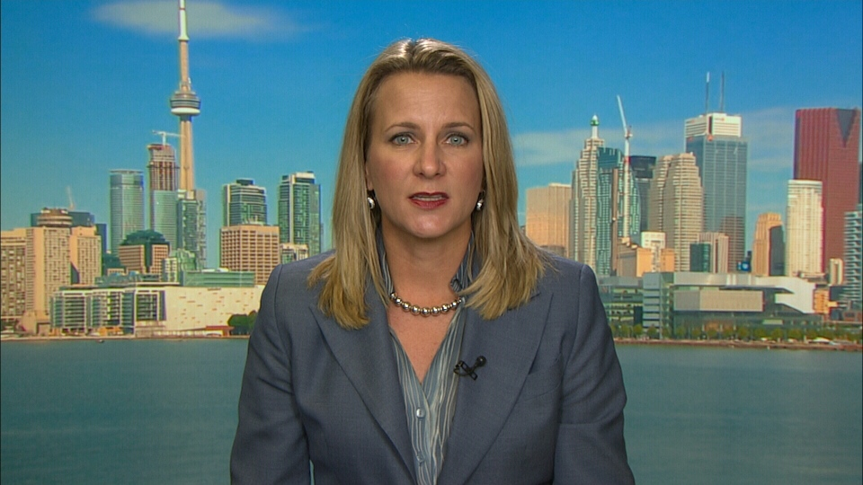 Immigration Lawyer Chantal Desloges speaks on CTV Power Play from Toronto, on Thursday, Oct. 8, 2015.