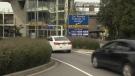 YVR car rental area
