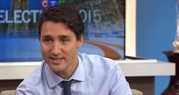 Liberal party Leader Justin Trudeau on CTV's Canada AM, on Oct. 9, 2015.