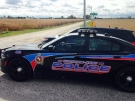 Chatham-Kent police and OSPCA bust an alleged dog-fighting ring east of Tilbury, Ont., on Friday, Oct. 9, 2015. (Chris Campbell / CTV Windsor)