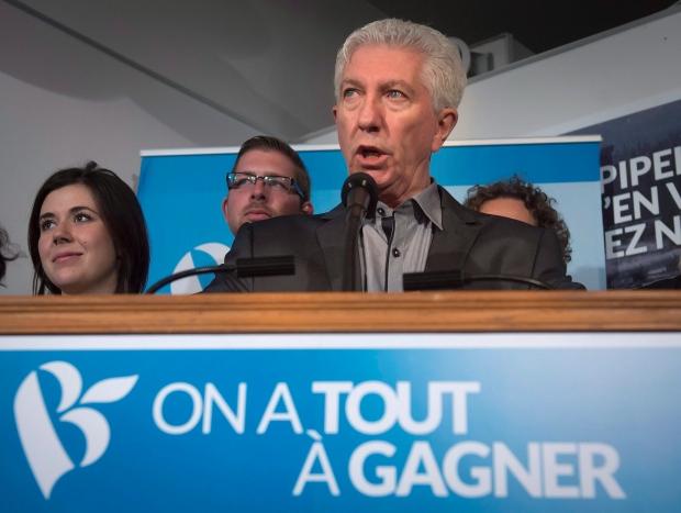 Bloc Quebecois Gilles Duceppe