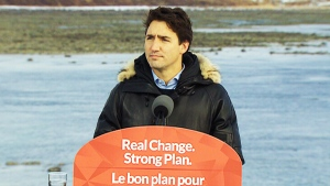 Trudeau will begin his northern trip by meeting with representatives from Canada's national Inuit organization in Iqaluit today.