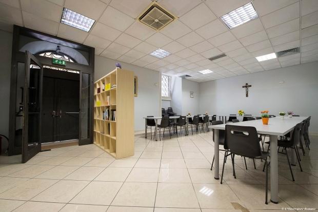 Vatican's homeless shelter