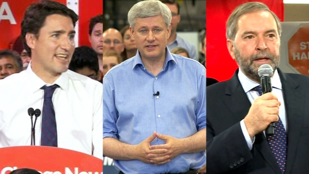 Federal leaders Oct. 12