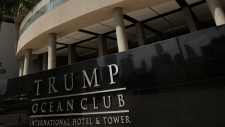 Trump tower in Panama