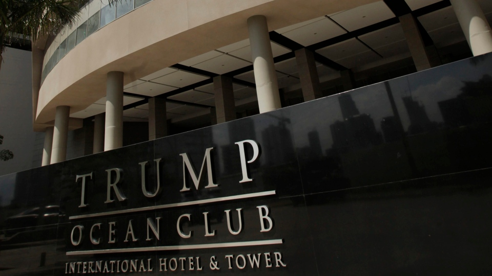 The Trump Ocean Club International Hotel and Tower is seen in Panama City, Panama, is seen on July 4, 2011. (AP Photo/Arnulfo Franco)