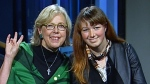 Green Party Leader Elizabeth May and daughter Cate May Burton, who is running for the Greens in Berthier-Maskinonge, speak to CTV's Power Play on Oct. 12, 2015.