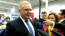 Doug Ford at Conservative rally