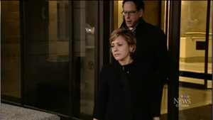 Christy Natsis is seen leaving the Ottawa Courthouse in this undated photo.