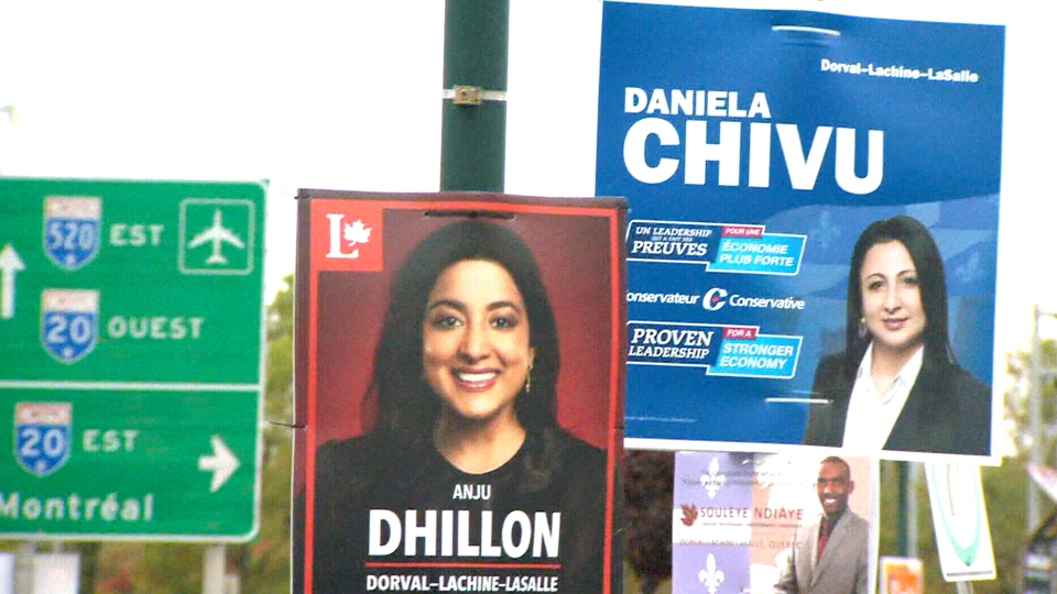 The NDP, Conservative and Liberal candidates for the riding of Dorval-Lachine-LaSalle are all women.