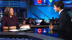 CTV National News: One-on-one with Trudeau