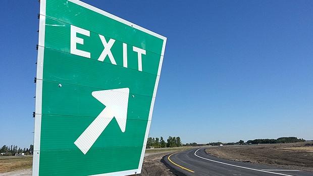 Saskatchewan highway sign.