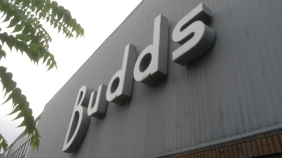 The Budds clothing store on King Street West in Kitchener is pictured on Thursday, Oct. 15, 2015. (Terry Kelly / CTV Kitchener)