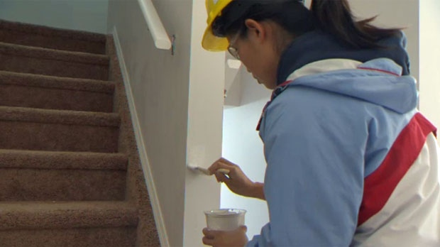 After graduating as a civil engineer, Michelle Mah turned to volunteering with Habitat for Humanity when she could not find employment