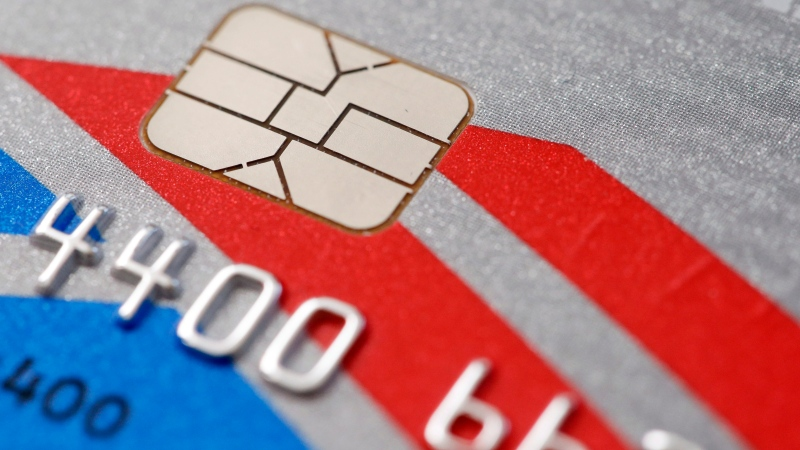 This Wednesday, June 10, 2015, file photo, shows a chip-based credit card, in Philadelphia. (Matt Rourke/AP Photo)