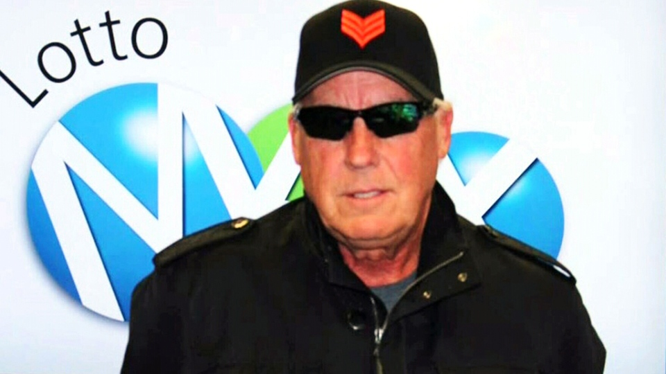 Tom Crist won $40 million in a Lotto Max draw in May, 2013.