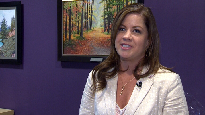 Mandy Buckner's speaks to CTV Calgary about how her family is donating the $40 million her father won in 2013.