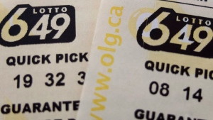 Lotto 6-49 tickets. (Richard Plume / THE CANADIAN PRESS)