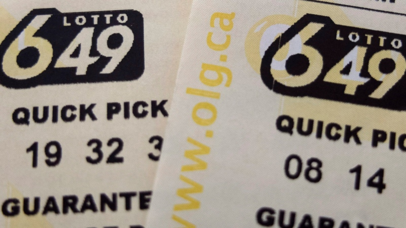 Lotto 649 tickets. (Richard Plume / THE CANADIAN PRESS)