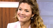 Sophie Gregoire-Trudeau, wife of Liberal leader Justin Trudeau, in an exclusive interview with CTV Question Period host Robert Fife.