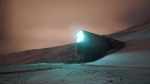 "In this photo taken Sunday, Oct. 18, 2015, a view of the Global Seed Vault in Svalbard, Norway. In the first withdrawal from a ""doomsday"" seed vault in the Arctic, thousands of seeds that were originally kept in war-stricken Syria have been safely delivered to Morocco and Lebanon, officials said Monday. (AP / David Keyton)"