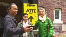 Voting selfie 2015