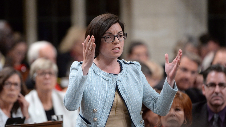 NDP MP Niki Ashton asks a question during Question Period in the House of Commons in Ottawa on Tuesday, June 2, 2015. ( Sean Kilpatrick / THE CANADIAN PRESS)