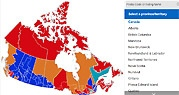 Election Map 2015 2 am