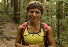Ultramarathoner Pushpa Chandra has been training to run a 100 kilometre race on the Antarctic. Nov. 29th, 2008.