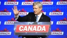 Harper concession speech
