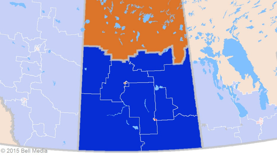 Twelve of 62 ridings in the Prairies were won by a Liberal MP Monday night. While most of the seats have remained in Conservative hands, there were some notable Liberal gains in this region.