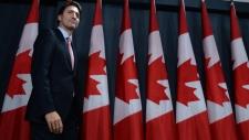 Prime Minister-designate Justin Trudeau speaks