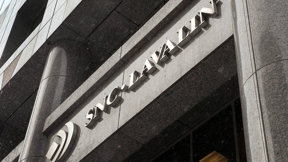 The head office of SNC-Lavalin is seen in Montreal, Thursday, Feb.19, 2015. (Ryan Remiorz / THE CANADIAN PRESS)