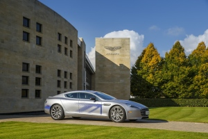 Aston Martin full electric RapidE concept. (©Aston Martin)
