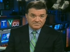 Finance Minister Jim Flaherty speaks with CTV's Question Period on Sunday, Nov. 30, 2008.